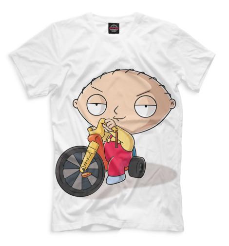 Мужская футболка Стьюи