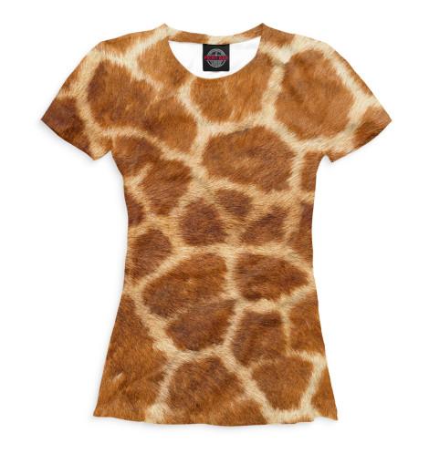 Женская футболка Жираф