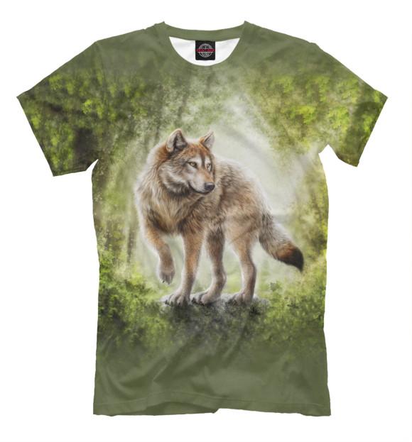 Купить Мужская футболка Волк VLF-660188-fut-2