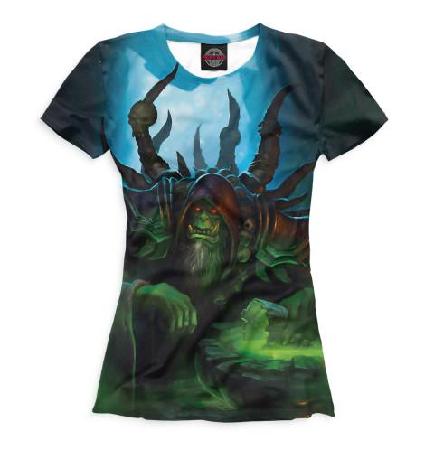 Купить Женская футболка World of Warcraft WOW-342886-fut-1
