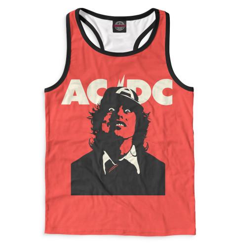 Мужская майка-борцовка AC/DC