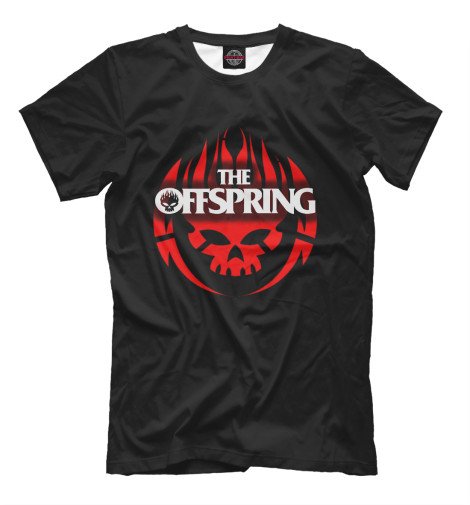 Купить Мужская футболка The Offspring MZK-616914-fut-2