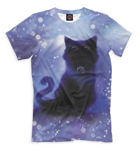 Купить Мужская футболка Коты CAT-782644-fut-2