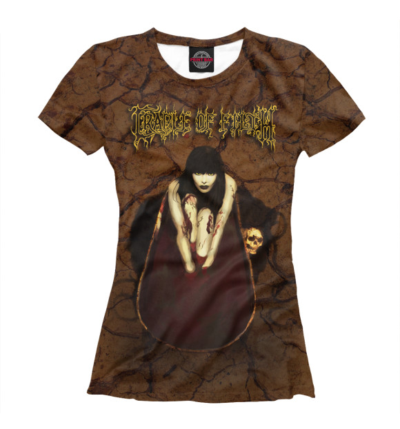 Купить Женская футболка Cradle Of Filth MZK-427761-fut-1
