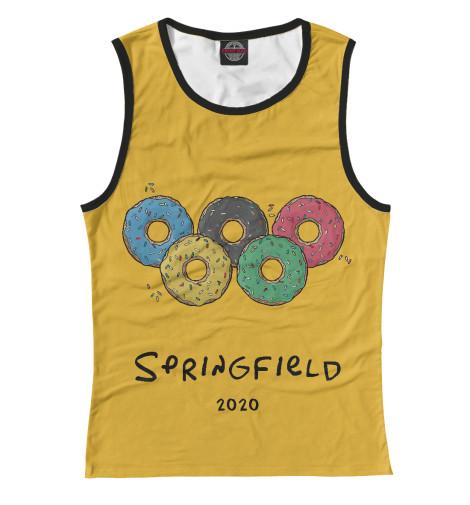Майка Print Bar Springfield 2020 чиносы springfield springfield sp014emvgd97