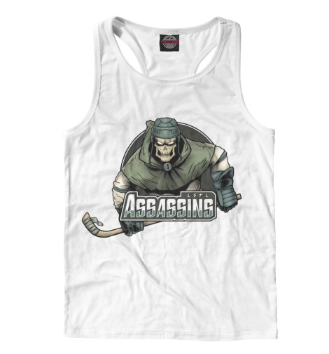 Майка борцовка Print Bar Assassins hockey футболка print bar assassins hockey