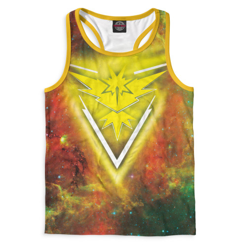 Майка борцовка Print Bar Team Instinct майка print bar pokemon go valor team