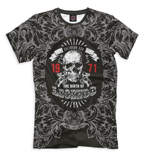 Купить Мужская футболка На Земле с 1971 DSI-895582-fut-2