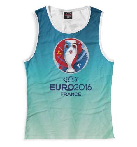 Женская майка Евро 2016