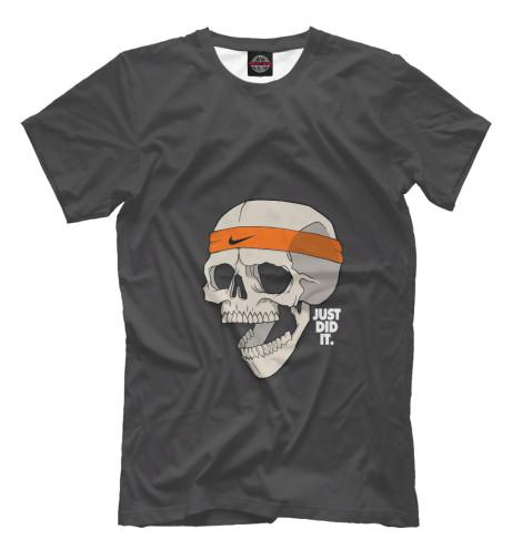 Футболка Print Bar The Possibility Of Skull becoming batman the possibility of a superhero