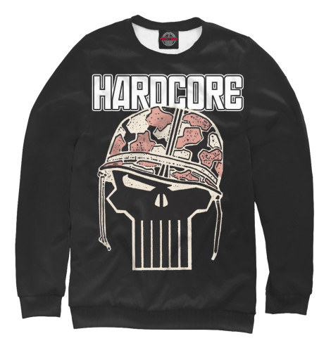 Свитшот Print Bar HARDCORE SKULL свитшот print bar hardcore punk skull