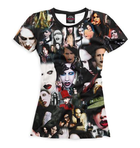 Женская футболка Mаrilyn Manson