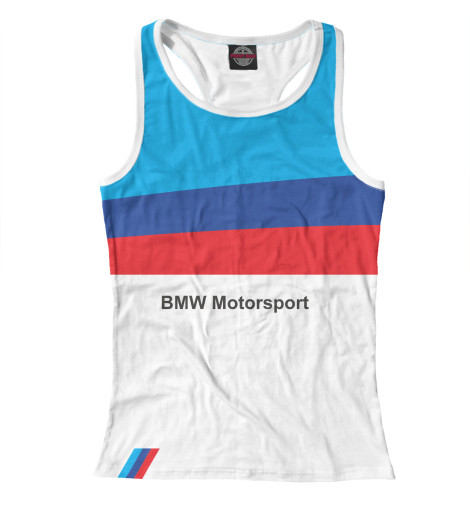 Майка борцовка Print Bar BMW Motorsport худи print bar bmw motorsport