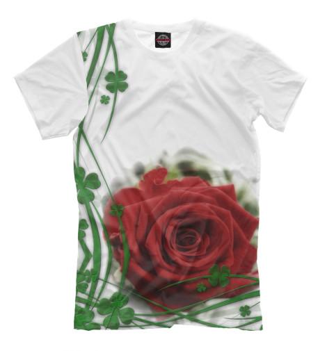 Футболка Print Bar Роза пламенная роза тюдоров