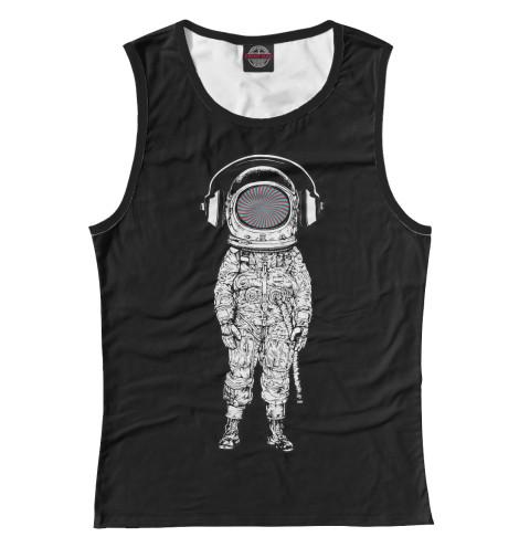 Майка Print Bar Психоделичный космонавт майка print bar космонавт