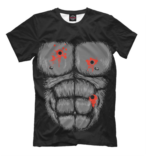 Футболка Print Bar Горилла футболка стрэйч printio горилла