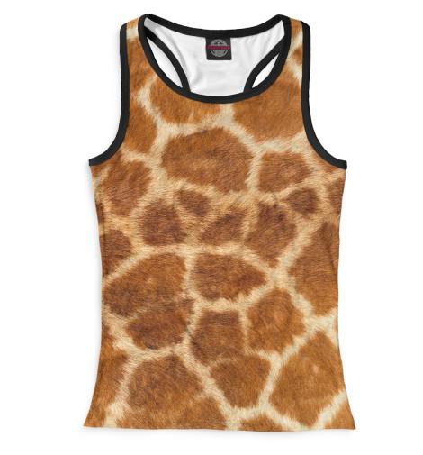 Женская майка-борцовка Жираф