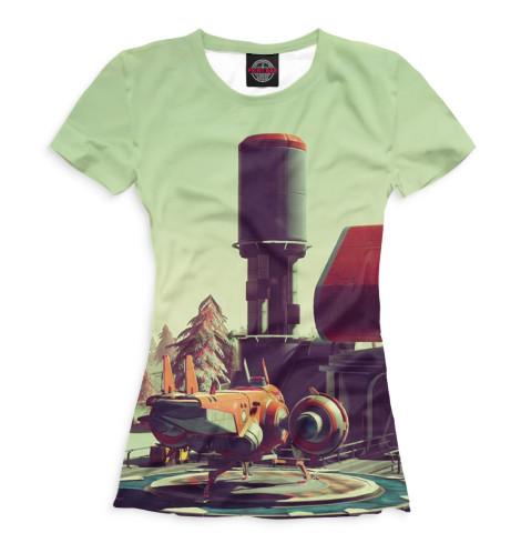 Купить Женская футболка No Man's Sky NMS-787412-fut-1
