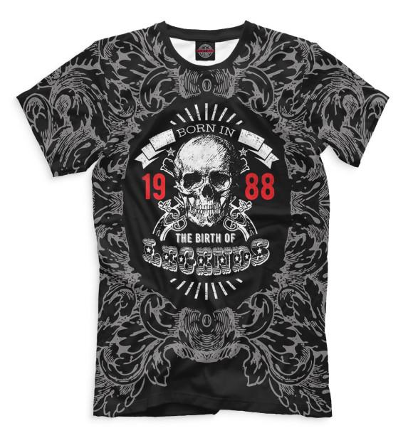 Купить Мужская футболка Рождение легенд — 1988 DVV-289460-fut-2
