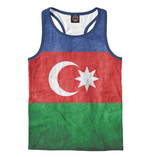 Майка борцовка Print Bar Флаг Азербайджана худи print bar флаг азербайджана