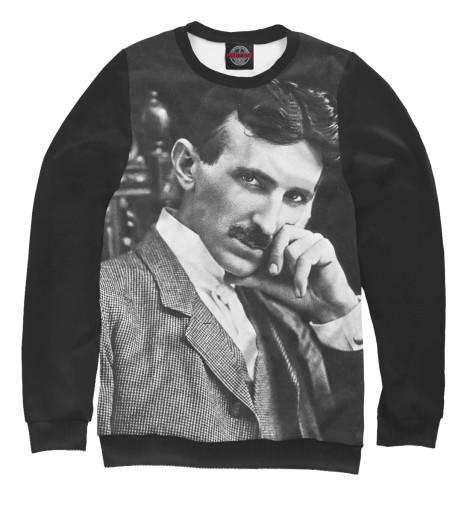 Свитшот Print Bar Никола Тесла никола тесла – повелитель молний научное расследование удивительных фактов