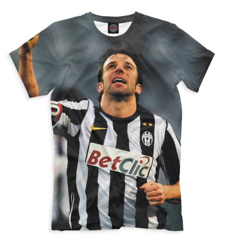 Мужская футболка Дель Пьеро