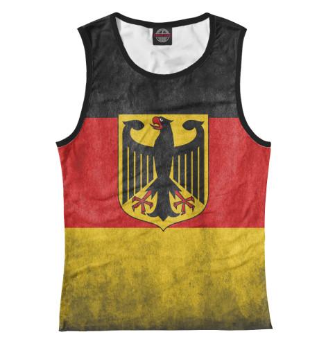 Майка Print Bar Флаг Германии флаг пограничных войск россии великий новгород