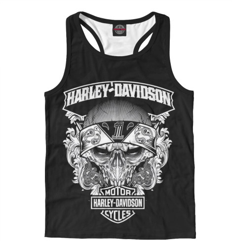 Майка борцовка Print Bar Harley-Davidson