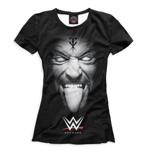 Женская футболка Undertaker