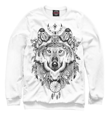 Свитшот Print Bar Волк тотем футболка print bar волк тотем