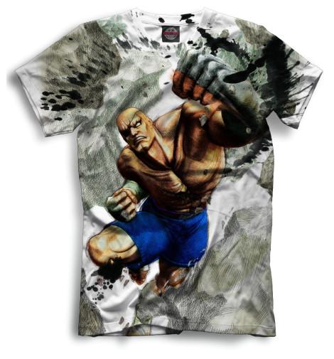 Мужская футболка Удар