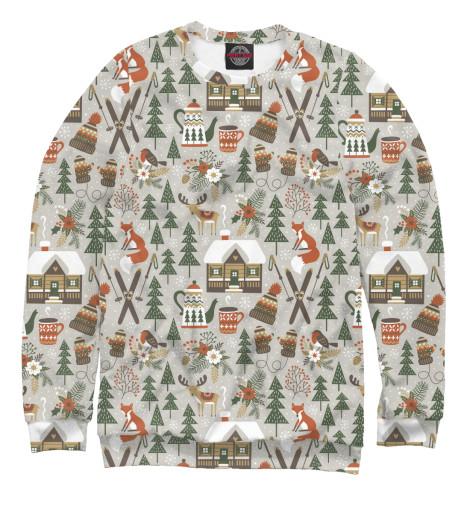 Свитшот Print Bar Winter holidays поло print bar happy chicken holidays