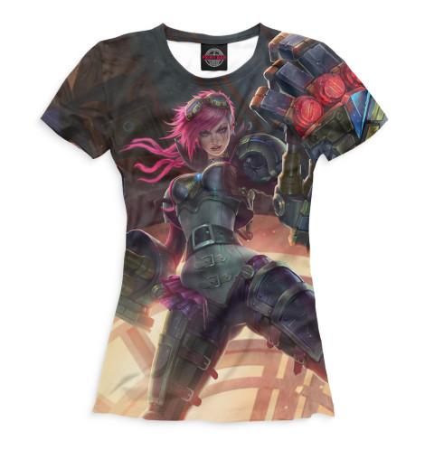 Женская футболка Vi