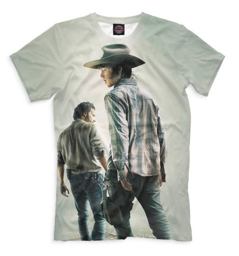 Мужская футболка Ходячие мертвецы
