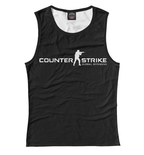 Майка Print Bar Counter-Strike Global Offensive свитшот print bar counter strike go