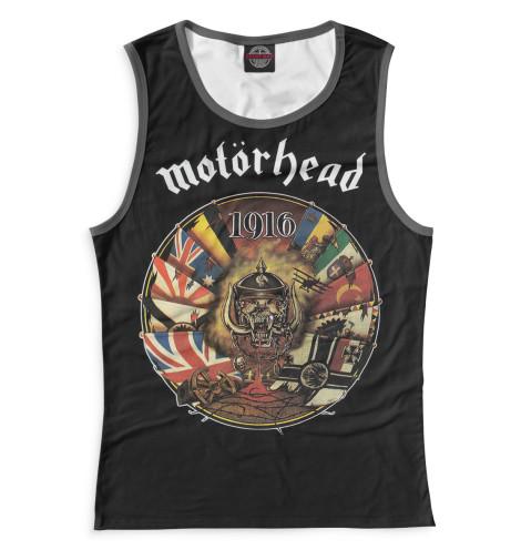 Женская майка Motorhead