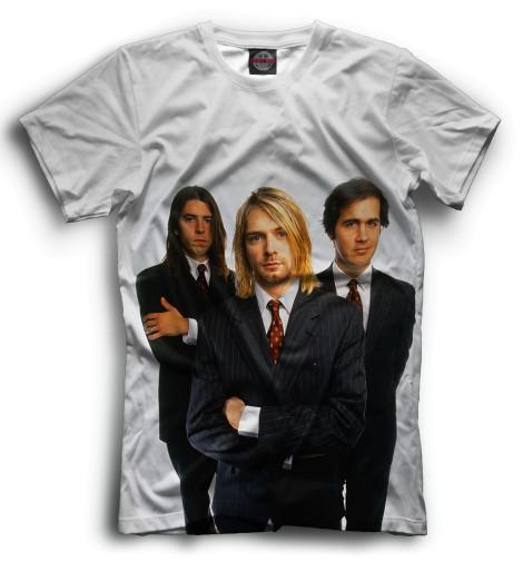 Мужская футболка Nirvana