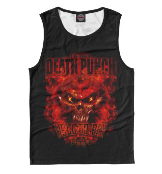 Мужская Майка Five Finger Death Punch Hell To Pay
