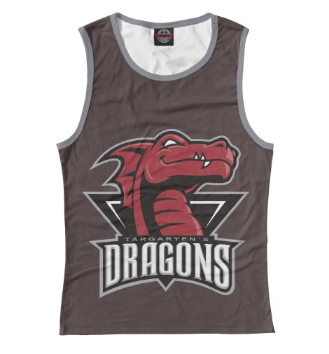 Майка Print Bar Targaryen Dragons dragons фигурка toothless сидящий