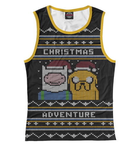 Майка Print Bar Christmas Adventure все цены