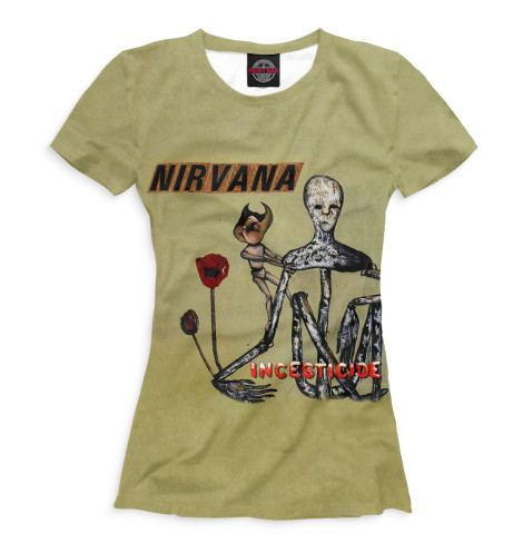 Купить Женская футболка Incesticide NIR-870790-fut-1