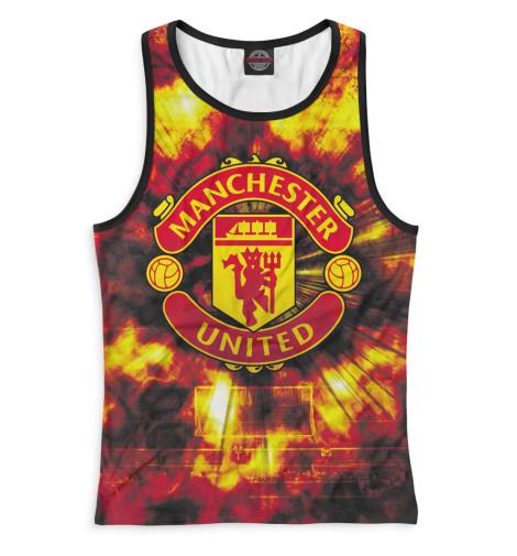 Женская майка-борцовка Manchester United герб