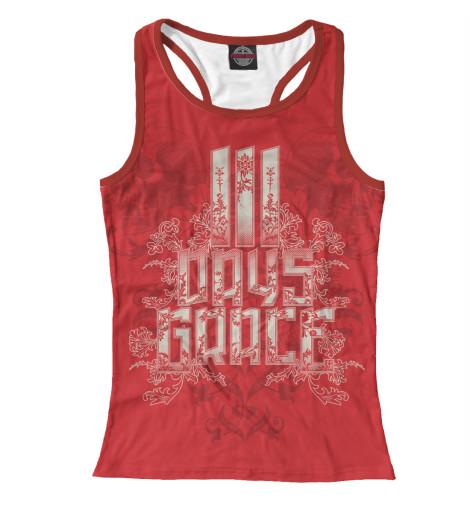 Майка борцовка Print Bar Three Days Grace бомбер printio three days grace