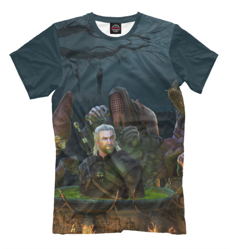 Футболка Print Bar The Witcher 3: Wild Hunt