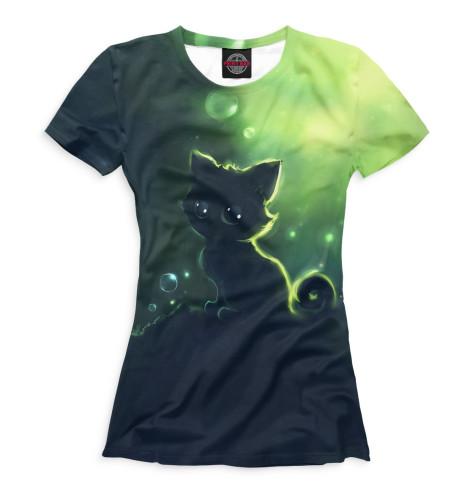 Купить Футболка для девочек Коты CAT-985456-fut-1