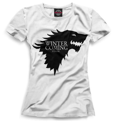 Женская футболка Символ Старков