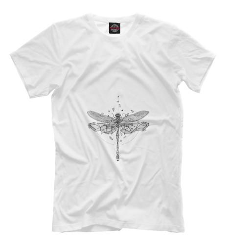 Футболка Print Bar Geometric dragonfly худи print bar geometric dragonfly
