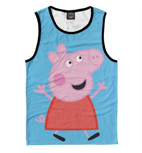 Майка Print Bar Свинка Пеппа кпб детский хлопок свинка пеппа рис 8804 8805 вид 1 пеппа балерина