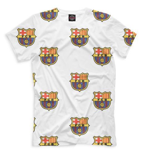 Купить Мужская футболка Паттерн FCB BAR-383330-fut-2