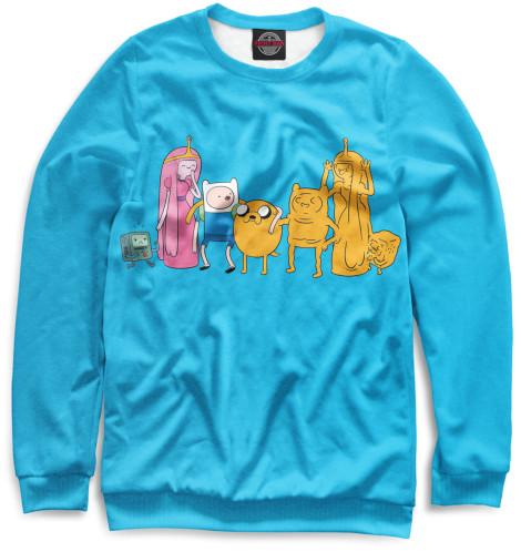Женский свитшот Adventure Time